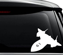 SR-71-Sticker Choose Color and Size