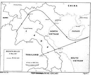 First Operational Black Shield Mission over Vietnam